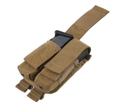 Picture of Pouch for 9 mm short magazine Coyote Brown color