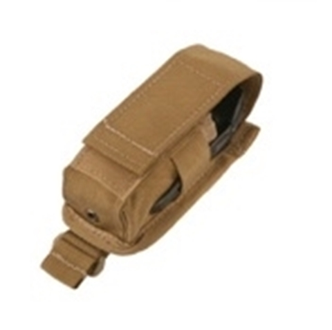 Picture of Single Flash Bang pouch Coyote Brown color