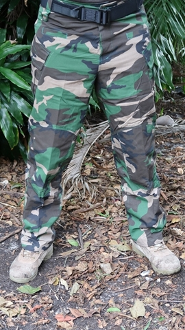 Picture of Cargo Tactical Pants - Woodland