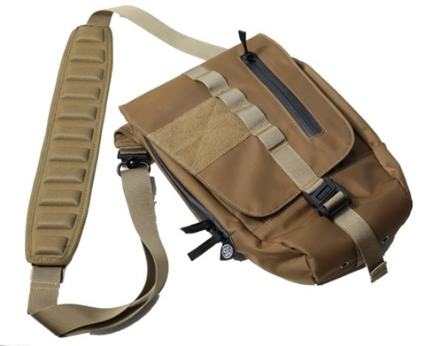 Picture of Concealed Pistol Side Bag - Coyote Brown