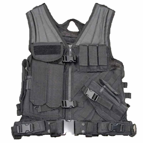 Picture of Police style Vest 1000D Cordura