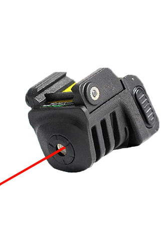 Picture of Rail Mounted Micro Laser Sight - Red