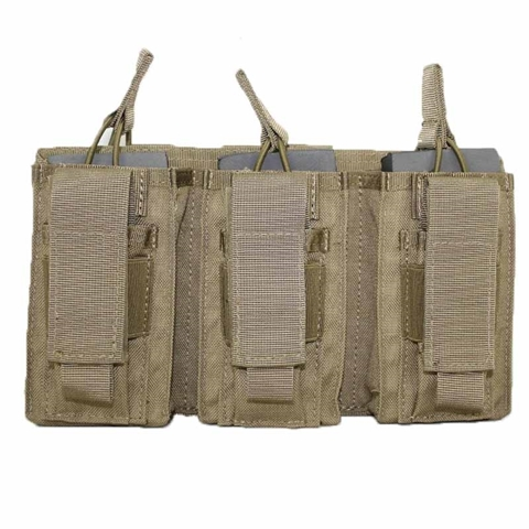 Picture of Triple rifle-pistol magazine pouch