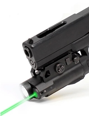 Picture of Rail Mounted Laser & Light Combo - Green or Red